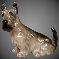 Royal Doulton miniature dog figurine Scottish Terrier K18