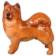 Royal Doulton miniature dog figurine chow dog K15