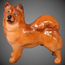 Royal Doulton miniature dog figurine chow dog K15