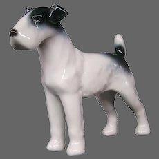Metzler & Ortloff porcelain terrier dog figurine