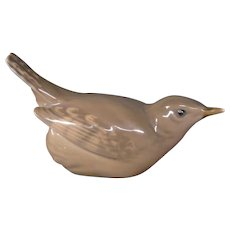 Royal Copenhagen porcelain  bird wren figurine 1504