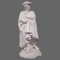 Richard Ginori capo di monte parian colonial type man figurine