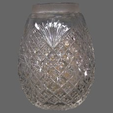 Mount Washington strawberry diamond fan brilliant cut glass egg sugar shaker