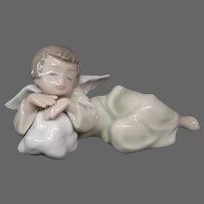 Lladro heavenly dreamer 5728 porcelain figurine retied Francisco Polope
