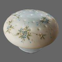Mount Washington Crown Milano floral enameled flower arranger