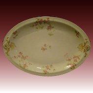 Haviland Schleiger 42 oval floral platter