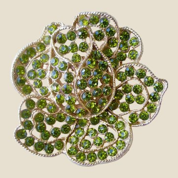 CAN'T BEAT THIS DEAL! Mid-century Weiss Rhinestone Pin