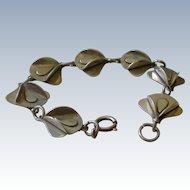 50% OFF ORIGINAL PRICE Spectacular Modernistic Bracelet Sterling Silver Links 3 Dimensional