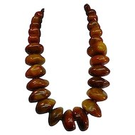 Original Stacey Porter Huge Tibet Copal Bead Necklace