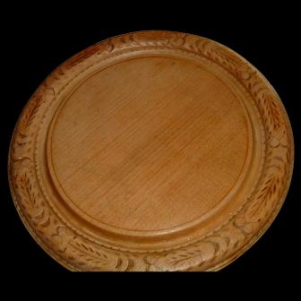 Antique English Bread Board fancy