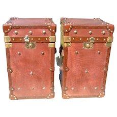English Handmade Leather Trunks