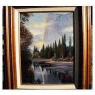 El Capitan, Yosemite (Canadian Artist - Charles H. White)