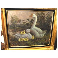 Original Oil/Canvas by Lowell Davis - 1987 - Red Tag Sale Item