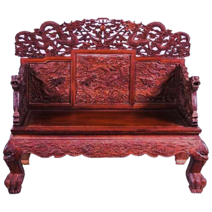 Super Huanghuali Wood Chinese Emperors Throne Chair Late Qing 1849 1911 Beutiful Home Inspiration Ommitmahrainfo