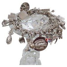 Virgo Zodiac Vintage Silver Enamel Travel Charm Fine Jewellery