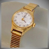 Vintage Lorus Ladies Watch. Seiko Gold Ladies Watch by Lorus.