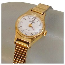 Vintage Lorus Ladies Watch. Seiko Gold Ladies Watch by Lorus.