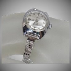 Vintage Timex Electric Ladies' Watch. Women's Silver Timex Electric Watch.