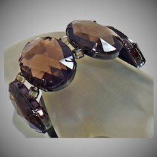 Joan Rivers Bracelet. Vintage Bracelet. Brown Bracelet. Stretch Bracelet. Bracelets for Women. Jewelry for Women. waalaa.