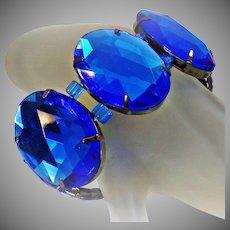Joan Rivers Bracelet. Vintage Bracelet. Blue Bracelet. Stretch Bracelet. Bracelets for Women. Jewelry for Women. waalaa.