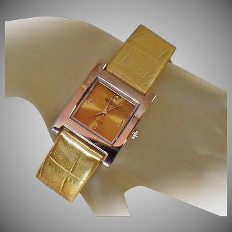 Ladies Watch. Designer Watch. Vintage Watch. Gruen Ladies Watch. Women's Gruen Watch. Bronze Gold Gruen Watch. Jewelry for Women. waalaa