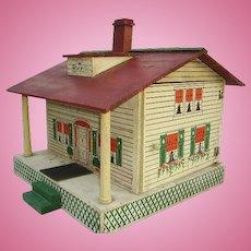 Vintage c.1915 Large Converse Wooden Folk Art Doll House