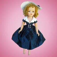 "Gorgeous Vintage Madame Alexander ""Cissy"" Doll/20""/Dress/Hat/Slip"