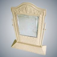 Art Deco Nouveau 1920s Traub Advertising Mirror/Orange Blossom Rings Store Display Mirror