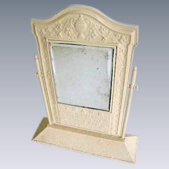 Art Deco Nouveau 1920s Traub Advertising Mirror/Orange Blossom Rings Store Display Mirror