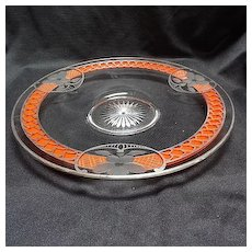 Heisey, plate