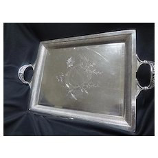 Tray with Horseshoe