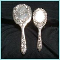 Mirror & Brush Sterling