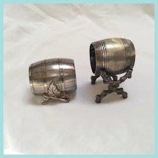 Barrel napkin rings
