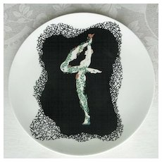 ERTE  #4  of 'The Numerals Collection' Plate by Mikasa