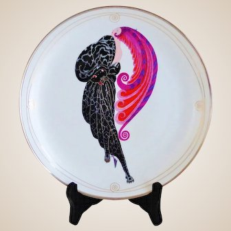 ERTE Beauty and the Beast Ltd. Edition Plate