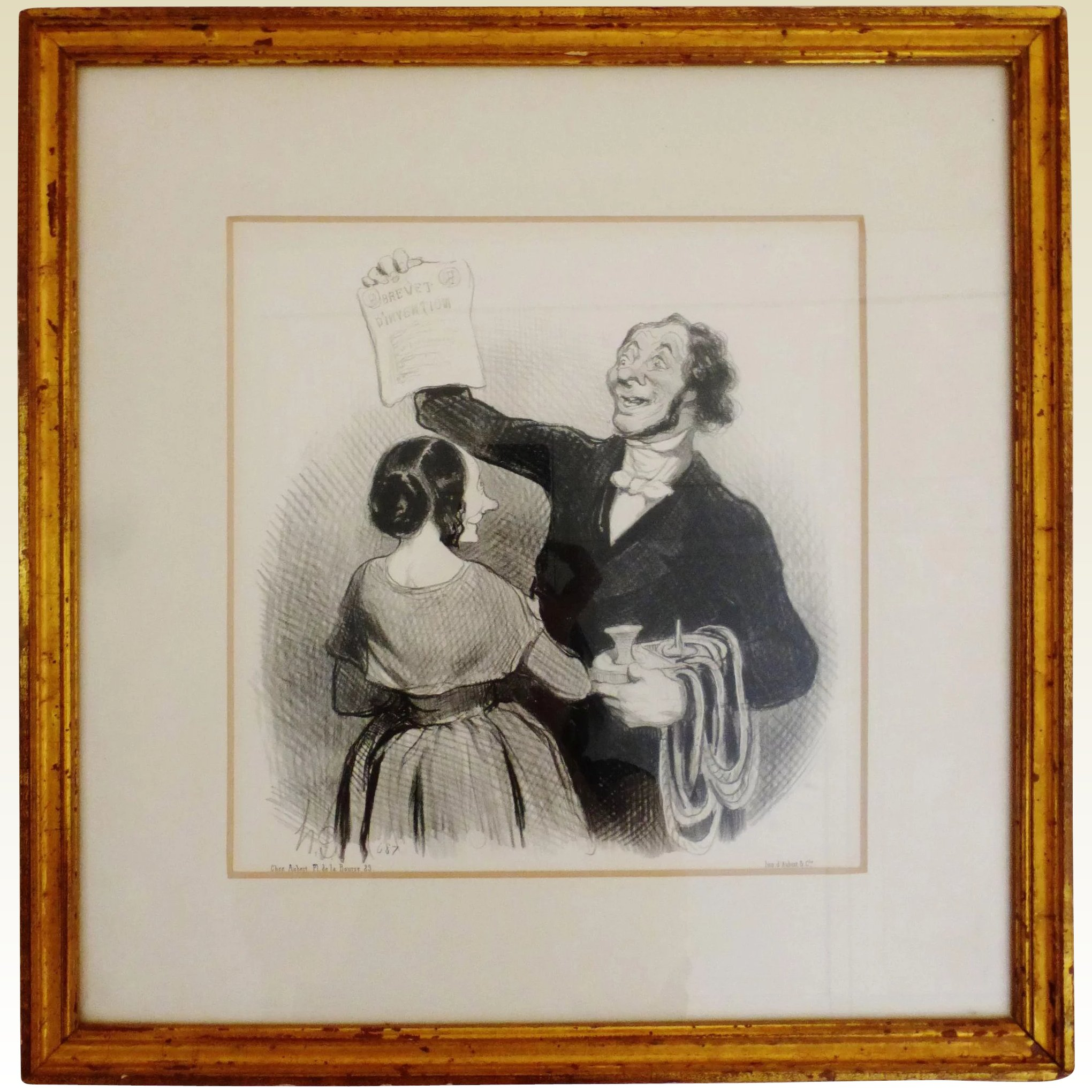 Six Honore Daumier lithographs from `L | #1538596