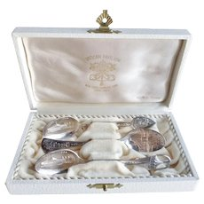 1964 New York World's Fair Vatican Pavilion Sterling Spoon Set