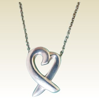 Tiffany & Co. Paloma Picasso Loving Heart Necklace