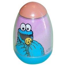 1982 Sesame Street Cookie Monster Weeble