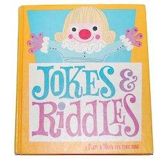 1959 Jokes & Riddles Hardcover Book