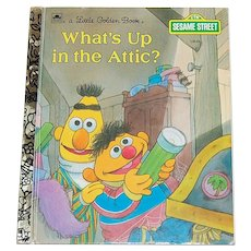 1987 What's Up in the Attic? Little Golden Book