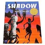 1982 SHADOW Softcover Children's Book by Author Marcia Brown
