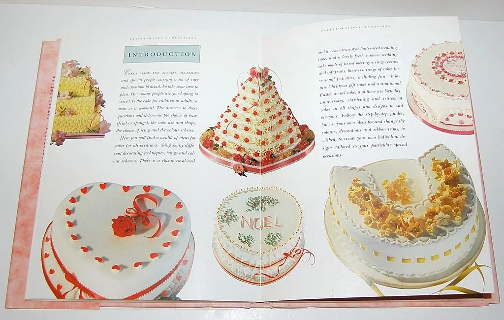 1992 The Ultimate Cake Decorator Hardcover Book Kitsch
