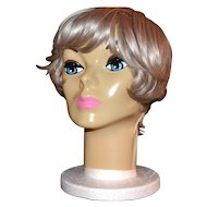 1963 Plasti-Personalities ~ Blue-Eyed Mannequin Head