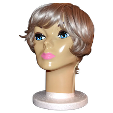 1963 Plasti-Personalities ~ Blue-Eyed Mannequin Head
