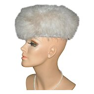 Zucker ~ Dramatic Fluffy Beige Marabou Feather Hat