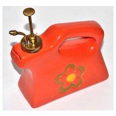1960s Flower Power Brass Nozzle Water Sprayer/Mister