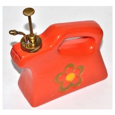 1960s Flower Power Brass Nozzle Water Sprayer/Mister