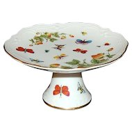 Lenox ~ Butterfly & Strawberry Pedestal Stand
