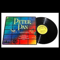 1963 Walt Disney ~ Peter Pan LP Record
